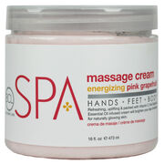 Massage Cream - ENERGIZING PINK GRAPEFRUIT