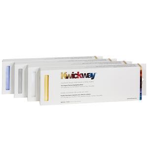 """KWICKWAY™ PRE-CUT STRIPS (SILVER) – 12"""" x 3-3/4"""" (150 strips)"""