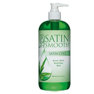 SATIN SMOOTH™ ALOE VERA SKIN SOOTHER GEL 16 OZ – SATIN COOL