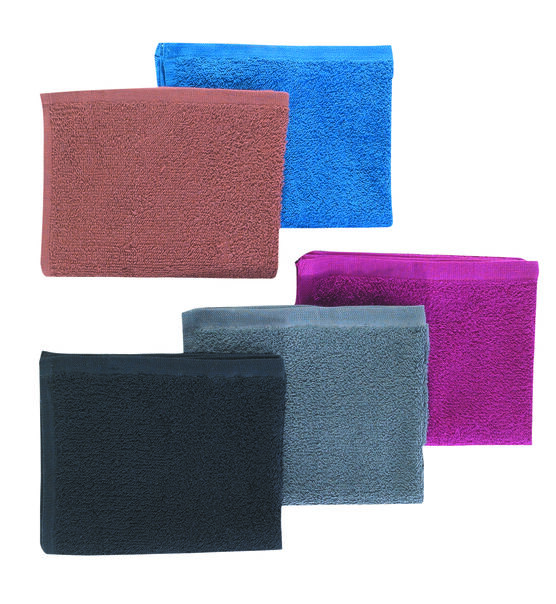 COLOUR TOWELS (BLACK)