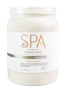 BCL SPA ; STEP 3 : MILK & HONEY WITH WHITE CHOCOLATE MOISTURE MASK 64 oz  (Softening & Hydrating Treatment)