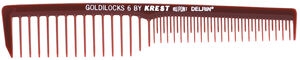 KREST GOLDILOCKS® FINISHING COMB WITH WIDE-SPACED TEETH