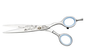 "JAGUAR SILVER LINE OCEAN""  MASTER CLASS 5 1/4"" FASHION SCISSORS"