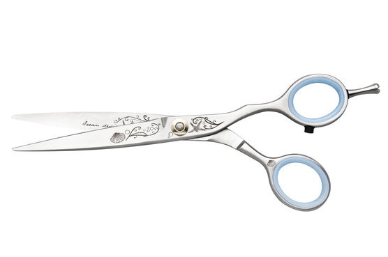 "JAGUAR SILVER LINE ""OCEAN""  MASTER CLASS 5 1/4"" FASHION SCISSORS"