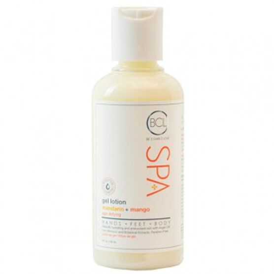 BCL SPA ; MANDARIN & MANGO GEL LOTION 3 oz