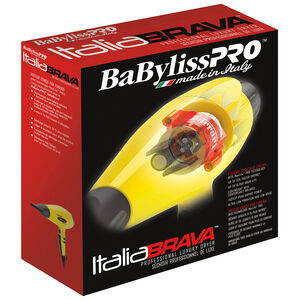 "BABYLISSPRO™ IONIC & NANO-TITANIUM HAIRDRYER ""ITALIABRAVA"""