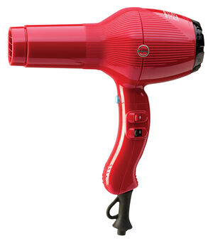 THE HOTTEST HAIRDRYER,WITH TOURMALINE COATED GRILL