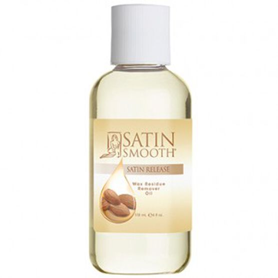 SATIN SMOOTH™ WAX RESIDUE REMOVER OIL 4 OZ – SATIN RELEASE