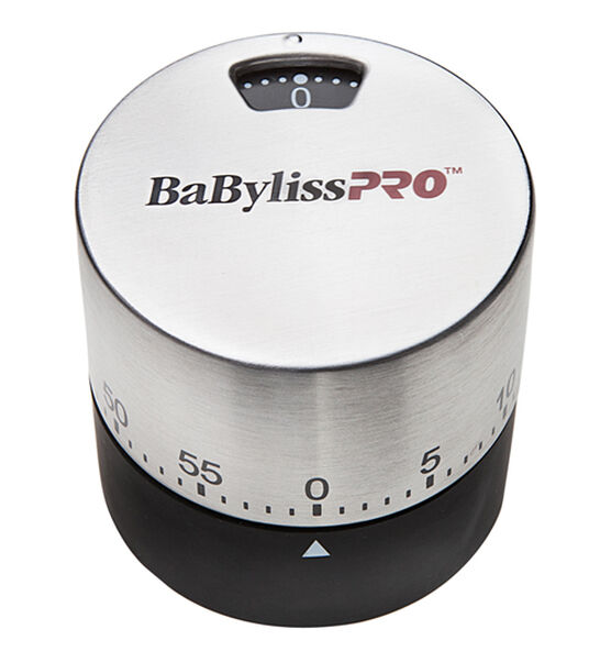 BABYLISSPRO™ STAINLESS STEEL TIMER