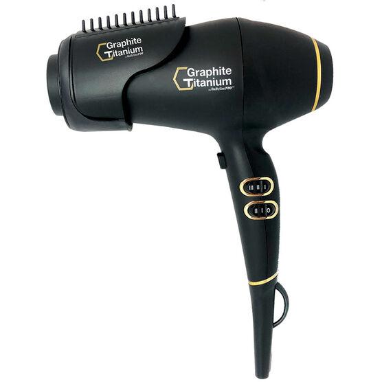 Graphite + Titanium ionic hairdryer