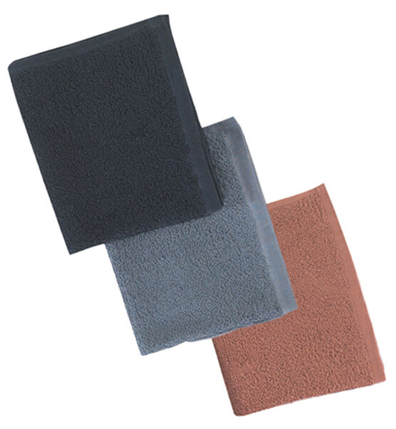 COLOUR TOWELS (BROWN)