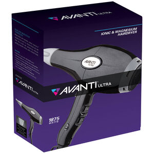AVANTI® ULTRA MAGNESIUM IONIC & CERAMIC HAIRDRYER REDUCES DRYING TIME FOR ULTRA-EFFICIENT STYLING