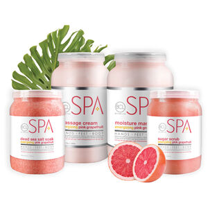 Dead Sea Salt Soak - ENERGIZING PINK GRAPEFRUIT