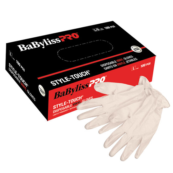 BABYLISSPRO™ DISPOSABLE VINYL GLOVES (SMALL)