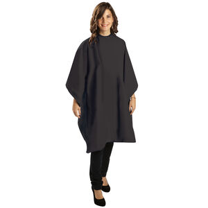 EXTRA-LARGE WATERPROOF ALL-PURPOSE CAPE BLACK