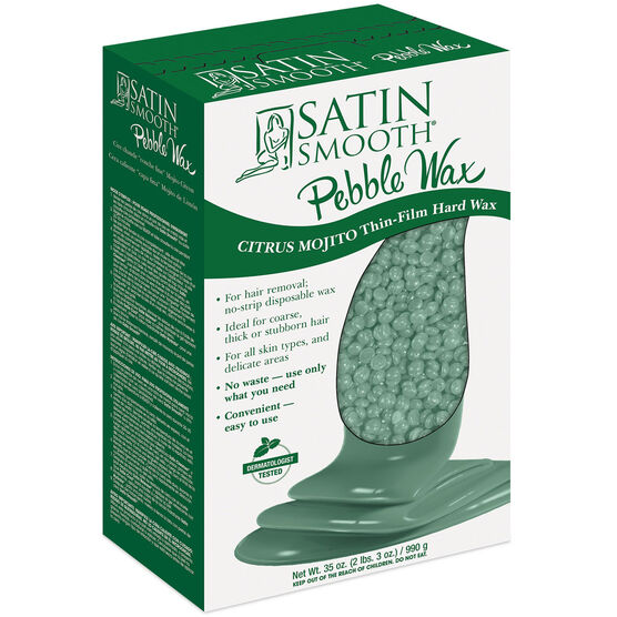 SATIN SMOOTH™ PEBBLE WAX CITRUS MOJITO THIN-FILM HARD WAX